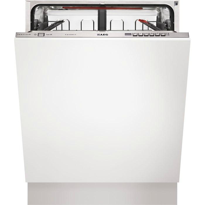 f66603viop aeg integrated dishwasher 60cm 809 fitted. Black Bedroom Furniture Sets. Home Design Ideas